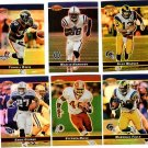 2000 Bowman's Best promo promotional football card #PP1 - PP6 set of 6 Kurt Warner NM/M