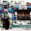 2001 Topps XFL promo promotional football card #P3 Rashaan Salaam NM/M