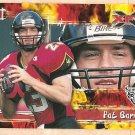 2001 Topps XFL promo promotional football card #P6 Pat Barnes NM/M