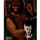 1998 Topps WCW New World Order promo promotional wrestling card Randy Macho Man Savage P3 NM/M