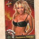 1999 Topps - The Women of WCW promo promotional wrestling card #P2 Gorgeous George NM/M