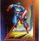1992 Impel promo promotional card Marvel Universe, Captain America EX condition