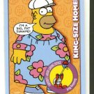 2001 Inkworks promo promotional card The Simpsons Mania P1 NM/M Homer Simpson