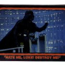 1999 (?) Topps promo promotional card Star Wars Chrome Archives Darth Vader P1 NM/M