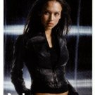 2001 Topps promo promotional card Dark Angel TV show P1 NM/M Jessica Alba (she's built for action)