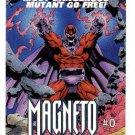 1993 Marvel Comics promo promotional checklist card Magneto #0 X-Men NM/M