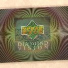 1997/98 Upper Deck Diamond Vision promo promotional motion logocard