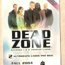 2004 Rittenhouse Archives promo promotional card Dead Zone Seasons 1 & 2 NM/M P1
