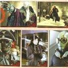 2003 Inkworks promo promotional 5 card set Hellboy The Movie NM/M 1 - 5