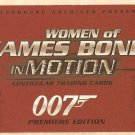 2003 Rittenhouse Archives promo card Women of 007 James Bond in Motion P2 NM/M