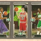 2003-04 Topps Rookie Matrix promo basketball card #PP2 Marcus Banks Kirk Hinrich TJ Ford