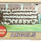 1968 Topps baseball card #252 California Angels Team Card VG/EX OC
