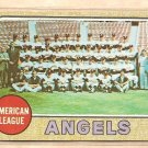 1968 Topps baseball card #252 (B) California Angels Team Card VG/EX