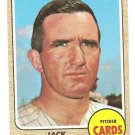 1968 Topps baseball card #311 Jack Lamabe St. Louis cardinals VG/EX