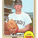 1968 Topps baseball card #201 Mike Marshall Detroit Tigers EX