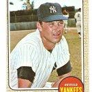 1968 Topps baseball card #69 Tom Tresh New York Yankees VG/EX