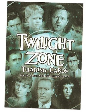 2005 Rittenhouse Archives promo card Twilight Zone: Science & Superstition P1 NM/M