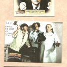 2005 Breygent Marketing promo promotional card The Three (3) Stooges 3 card set Moe Larry Curly