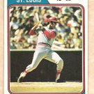 1974 Topps baseball card #15 Joe Torre St. Louis Cardinals G/VG