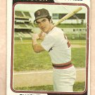 1974 Topps baseball card #351 Dwight Evans Boston Red Sox F/G