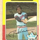1975 Topps baseball card #600 Rod Carew Minnesota twins G/VG