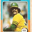 1975 Topps baseball card #21 Rollie Fingers Oakland A's, VG
