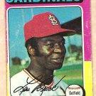1975 Topps baseball card #540 Lou Brock St. Louis Cardinals, Good condition