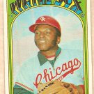 1972 Topps baseball card #15 Walt Williams Chicago White Sox EX