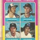 1975 Topps baseball card #618 Jamie Easterly Tom Johnson Scott McGregor Rick Rhoden EX/NM
