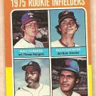 1975 Topps baseball card #617 Mike Cubbage Doug DeCinces Reggie Sanders Manny Trillo