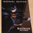 Batman Returns promotional movies posters - 2 different - Batman & Catwoman