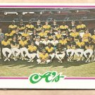 1978 Topps baseball card #577 Oakland A's team card checklist - UNMARKED NM