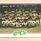 1978 Topps baseball card #577 (B) Oakland A's team card checklist - UNMARKED NM/M
