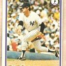 1978 Topps baseball card #460 Jim Catfish Hunter New York Yankees VG/EX