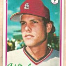 1978 Topps baseball card #405 Rawly Eastwick St. Louis Cardinals EX