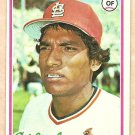 1978 Topps baseball card #257 Hector Cruz St. Louis Cardinals NM/M