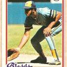 1978 Topps baseball card #154 (B) Cecil Cooper Milwaukee Brewers NM