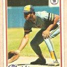 1978 Topps baseball card #154 (C) Cecil Cooper Milwaukee Brewers NM