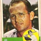 1963 Topps baseball card #11 Lee Walls Los Angeles Dodgers EX