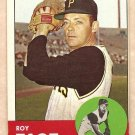 1963 Topps baseball card #409 Roy Face Pittsburgh Pirates EX/NM