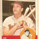 1963 Topps baseball card #260 Jim Gentile Baltimore Orioles NM-
