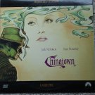 Chinatown Laserdisc (laser disc) movie Jack Nicholson, Faye Dunaway 2 disc set