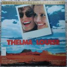 Thelma & Louis Laserdisc (laser disc) movie Susan Sarandon, Geena Davis, Brad Pitt 2 disc set