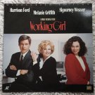 Working Girl Laserdisc (laser disc) movie Harrison Ford, Melanie Griffith, Sigourney Weaver