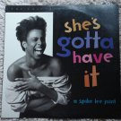 She's Gotta Have it Laserdisc (laser disc) movie Spike Lee, Tracy Camilla Johns