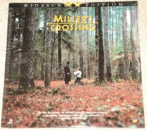 Miller's Crossing Laserdisc (laser disc) movie Albert Finney Steve Buscemi MINT factory sealed