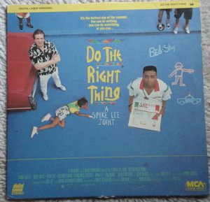 Do The Right Thing Laserdisc (laser disc) movie Spike Lee Danny Aiello Ossie Davis 2 disc set