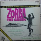 Zorba The Greek Soundtrack LP vinyl record album 33rpm, 1966 Anthony Quinn