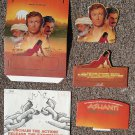Ashanti Land of No Mercy promo counter display - unused! Michael Caine, Peter Ustinov