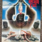Night of the Death Cult movie poster 24 x 36 folded, Victor Petit, Maria Kosti